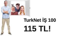 TurkNET İş 100 Paket Kampanyası