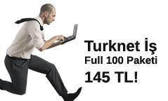 TurkNET İş Full 100 Paket Kampanyası